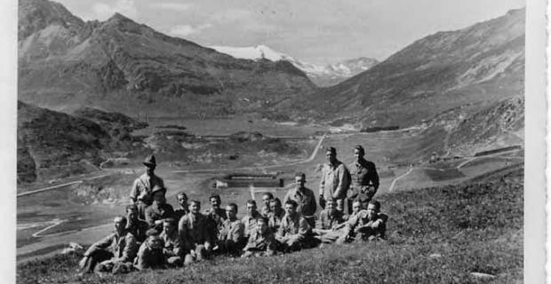 18 agosto 1941 Truppe Italiane in Moncenisio
