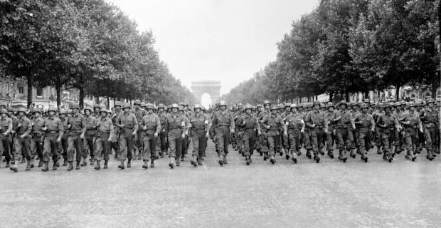 26 Agosto 1944, Parigi, festeggiamenti per la liberazione