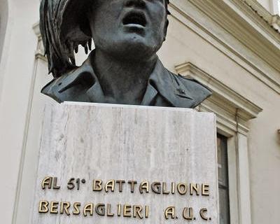 Bari 9.9.1943 / 9.9.2014 Cerimonia in ricordo dell'intervento dei Bersaglieri del LI°