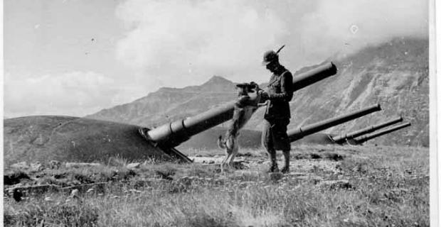 Forte La Court. 22 Agosto 1942 Alpino Italiano