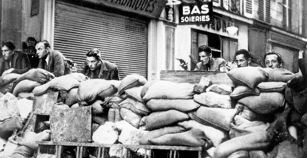 23 Agosto 1944, Francia barricate