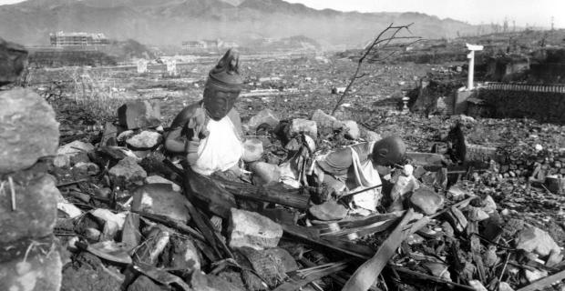 9 Agosto 1945, Nagasaki, seconda bomba atomica sganciata sul Giappone.
