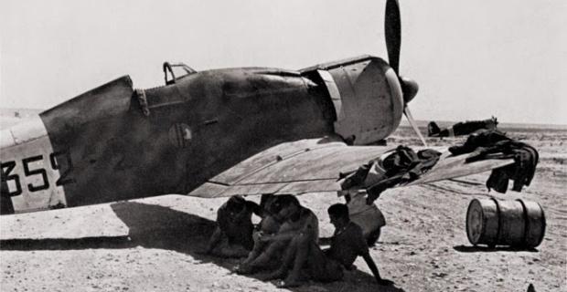 Agosto 1941 - la ricerca di un po' di ombra