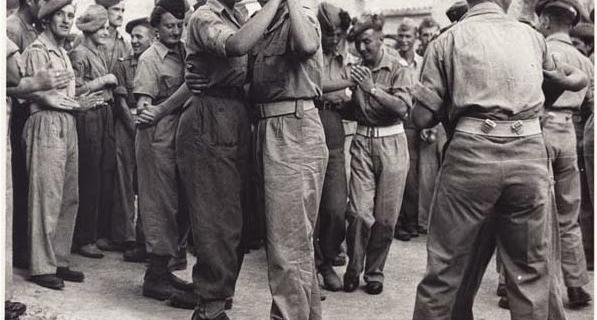 11 Agosto 1944, Firenze, festeggiamenti per la liberazione