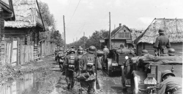 26 Agosto 1941 Tedeschi sul fronte dell'EST